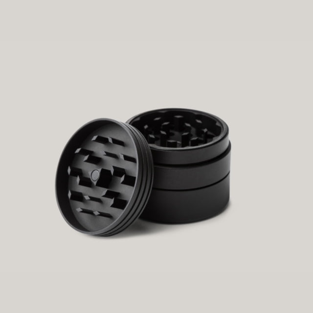 TANNER GOODS HERB GRINDER - BLACK ANODIZED