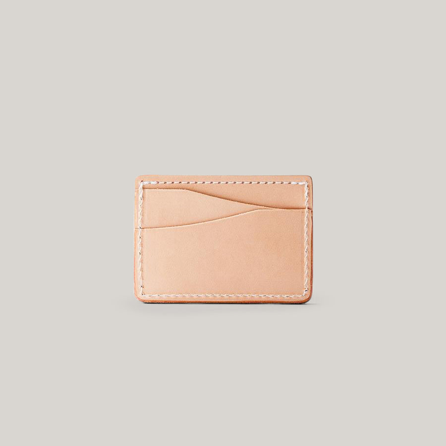 TANNER GOODS JOURNEYMAN WALLET - NATURAL