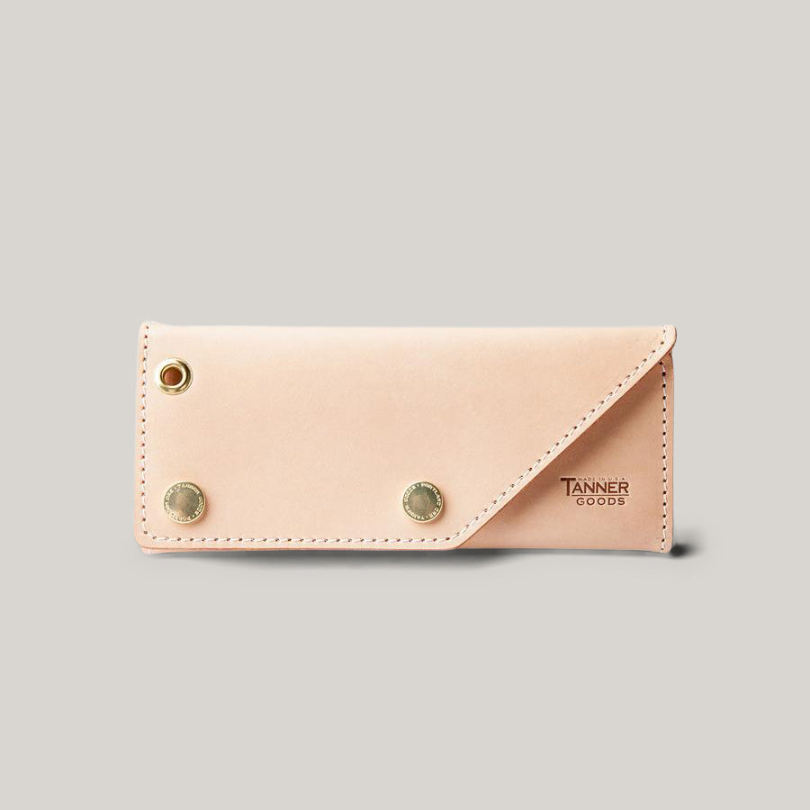TANNER GOODS WORKMAN WALLET - NATURAL