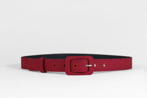 Lipstick Red Belt