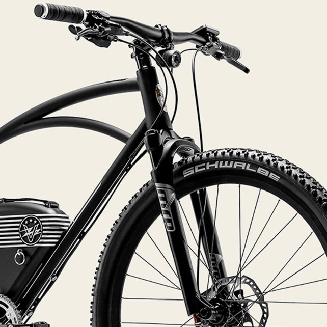 Front Suspension | Rally Electric Bike