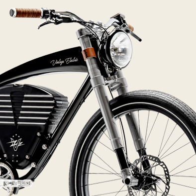 Front Suspension | Roadster Electric Bike
