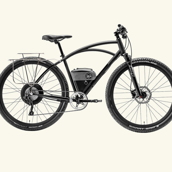 Rally Electric bike with rack