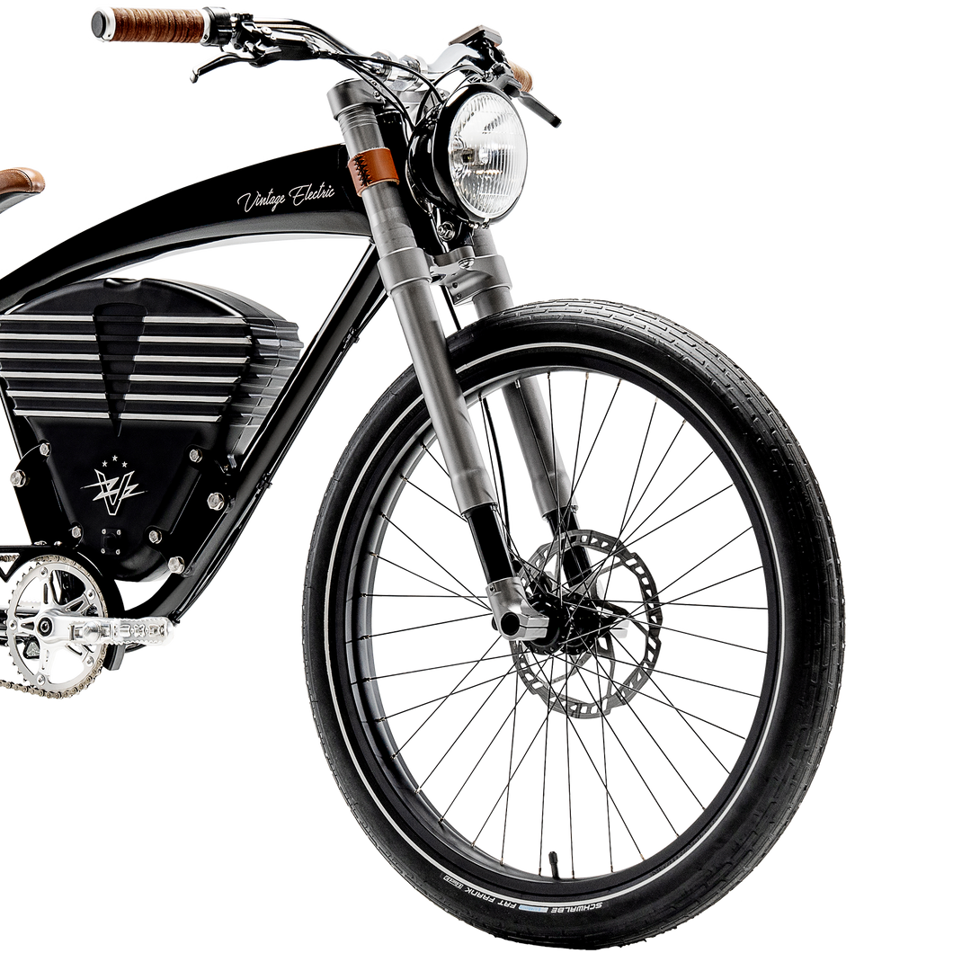 Gun Metal Grey Suspension Fork