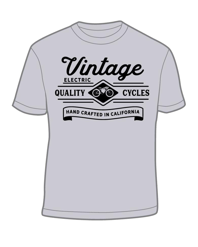 Quality Cycles Heather Grey Tee