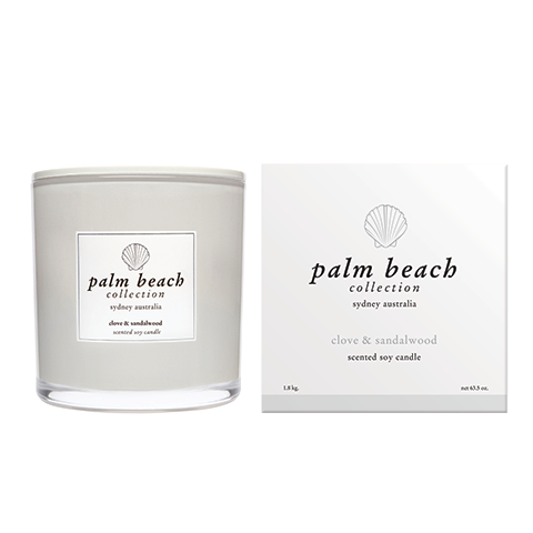Deluxe Candle Clove & Sandalwood