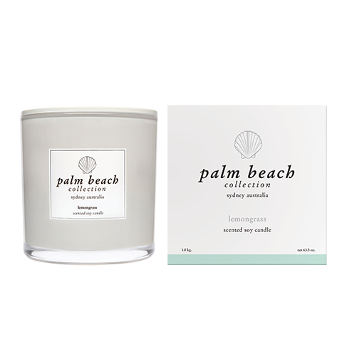 Deluxe Candle Lemongrass