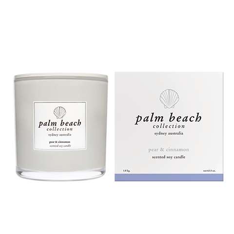 Deluxe Candle Pear and Cinnamon