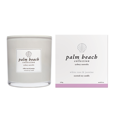 Deluxe Candle White Rose & Jasmine