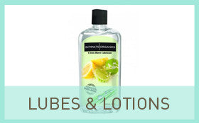 Lubes, Lotions, Massage Oils and Toy Cleaners