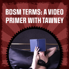 bdsm terms: a video tutorial with tawney - click here to view the video