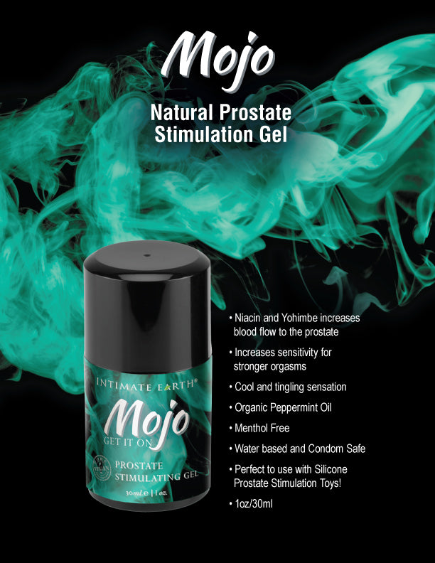Mojo Prostate Stimulating Gel by Intimate Earth 1 oz