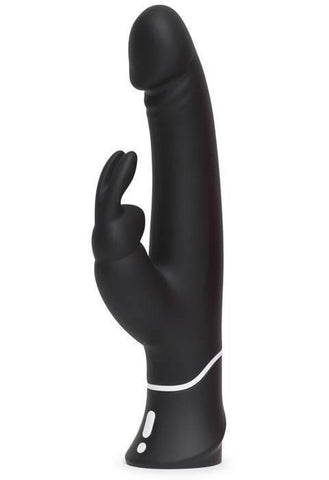 Happy Rabbit Classic Realistic Vibrator by Lovehoney - Black