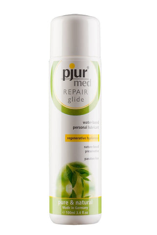 Pjur Med Repair Glide Water Based Moisturizing Lubricant 3.4 oz