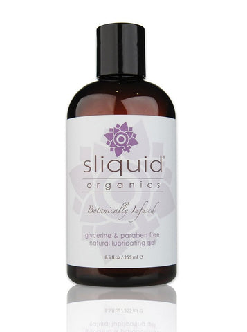Sliquid Organics Natural Gel Aloe Vera Based Lubricant - Various Sizes