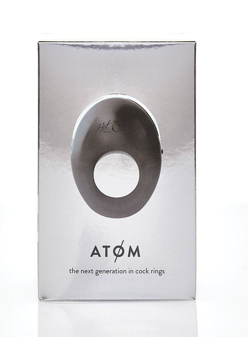 Hot Octopuss Atom Silicone Rechargeable Vibrating Penis Ring box