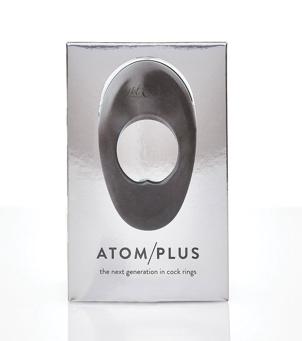 Hot Octopuss Atom Plus Dual Motor Rechargeable Vibrating Penis Ring  box