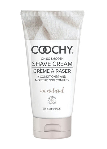 Coochy Oh So Smooth Shave Cream - Au Natural (Fragrance Free)