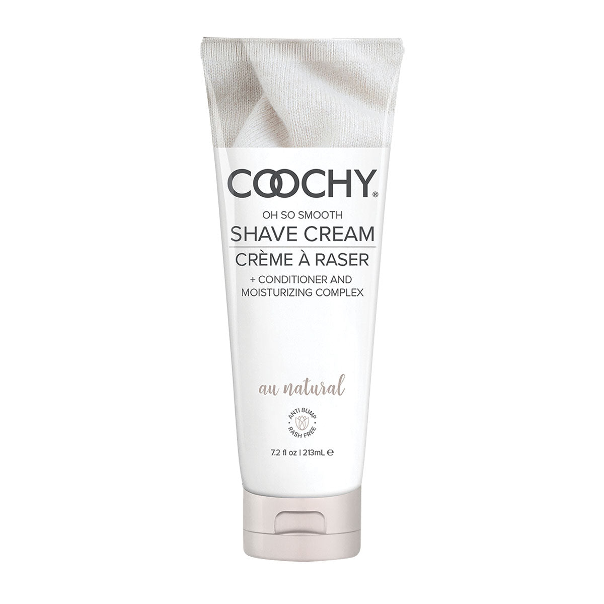 Coochy Oh So Smooth Shave Cream - Au Natural (Fragrance Free) 12.5