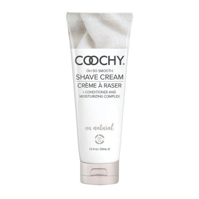 Coochy Oh So Smooth Shave Cream - Au Natural (Fragrance Free) 7.2