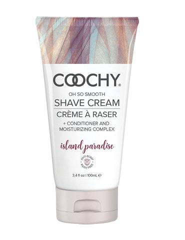 Coochy Oh So Smooth Shave Cream - Island Paradise 3.5