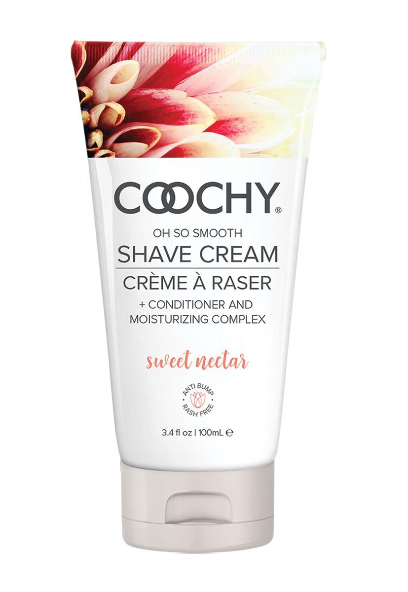 Coochy Oh So Smooth Shave Cream - Sweet Nectar 3.4