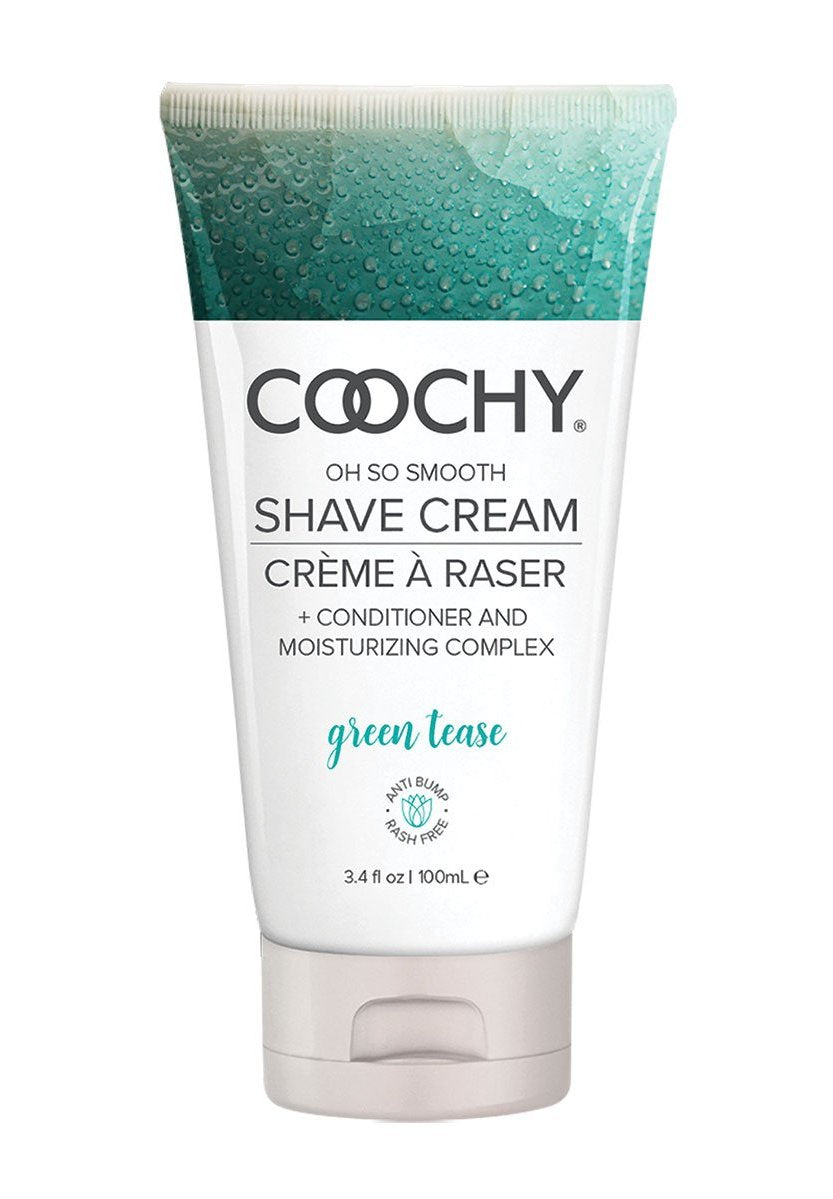 Coochy Oh So Smooth Shave Cream - Green Tease 3.4