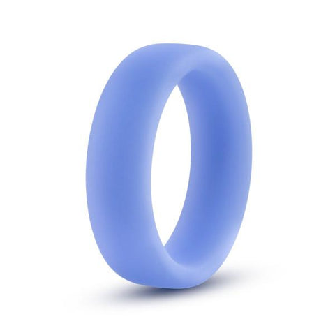 Performance Silicone Glo Cock Ring by Blush Novelties - Blue