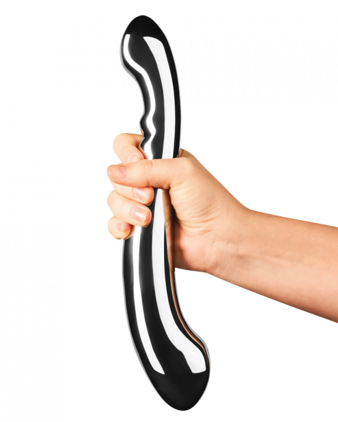 Le Wand Contour Double Ended Stainless Steel Dildo