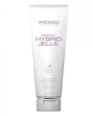 Wicked Simply Hybrid Jelle Lubricant  4 oz