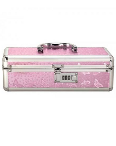 Lockable Vibrator Case Small - Pink