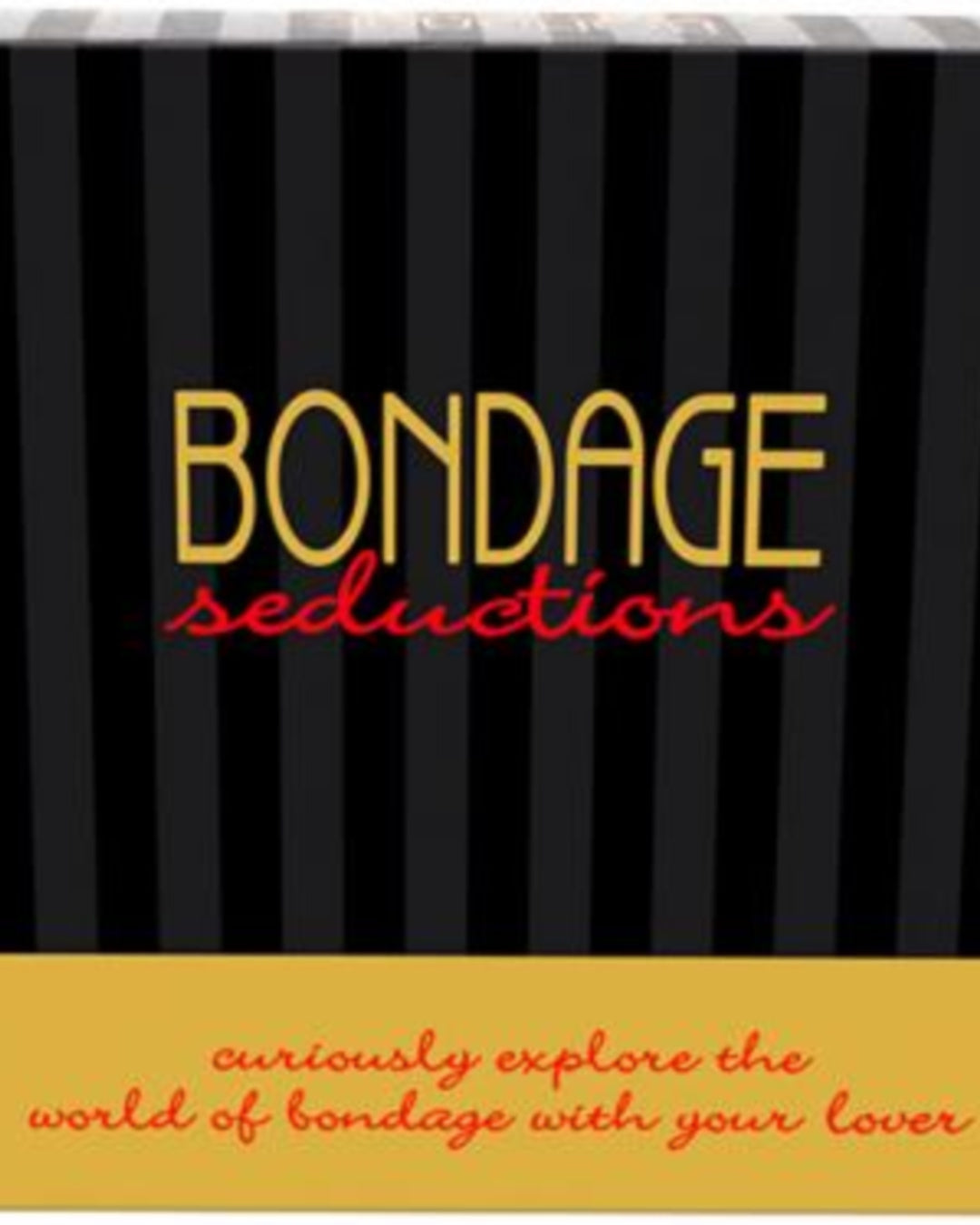 Bondage Seductions Board Game by Kheper Games Box