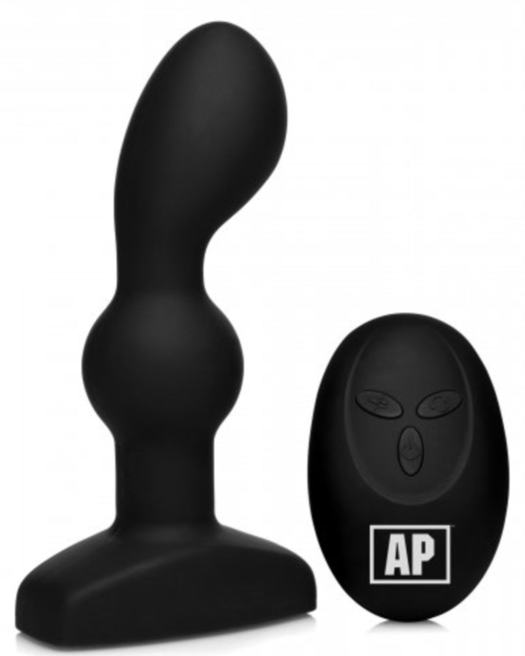 Alpha Pro P-SPIN Vibrating Prostate Stimulator with Spinning Beads