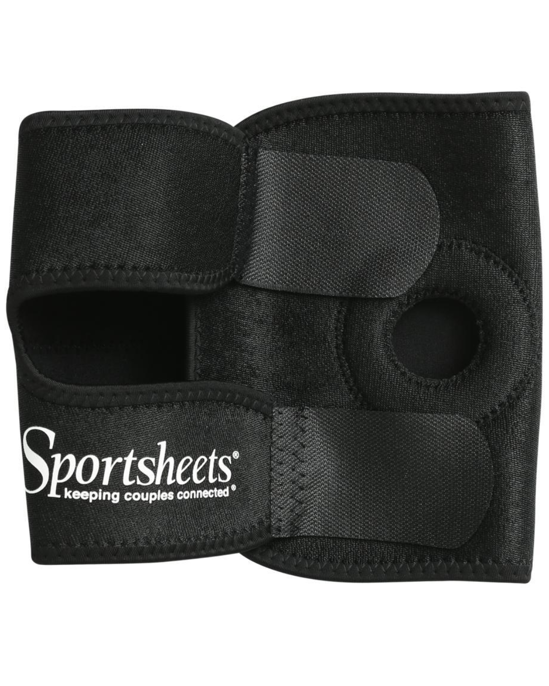 Strap On Thigh Harness by Sportsheets -  Black