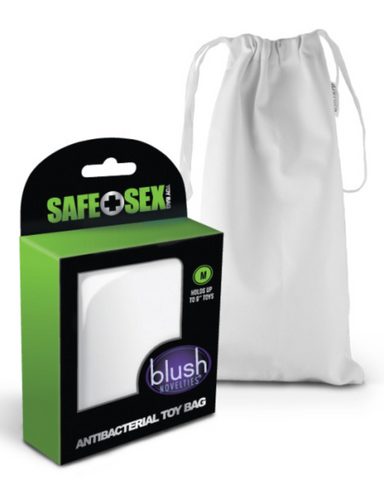 Safe Sex Antibacterial Toy Bag - Medium