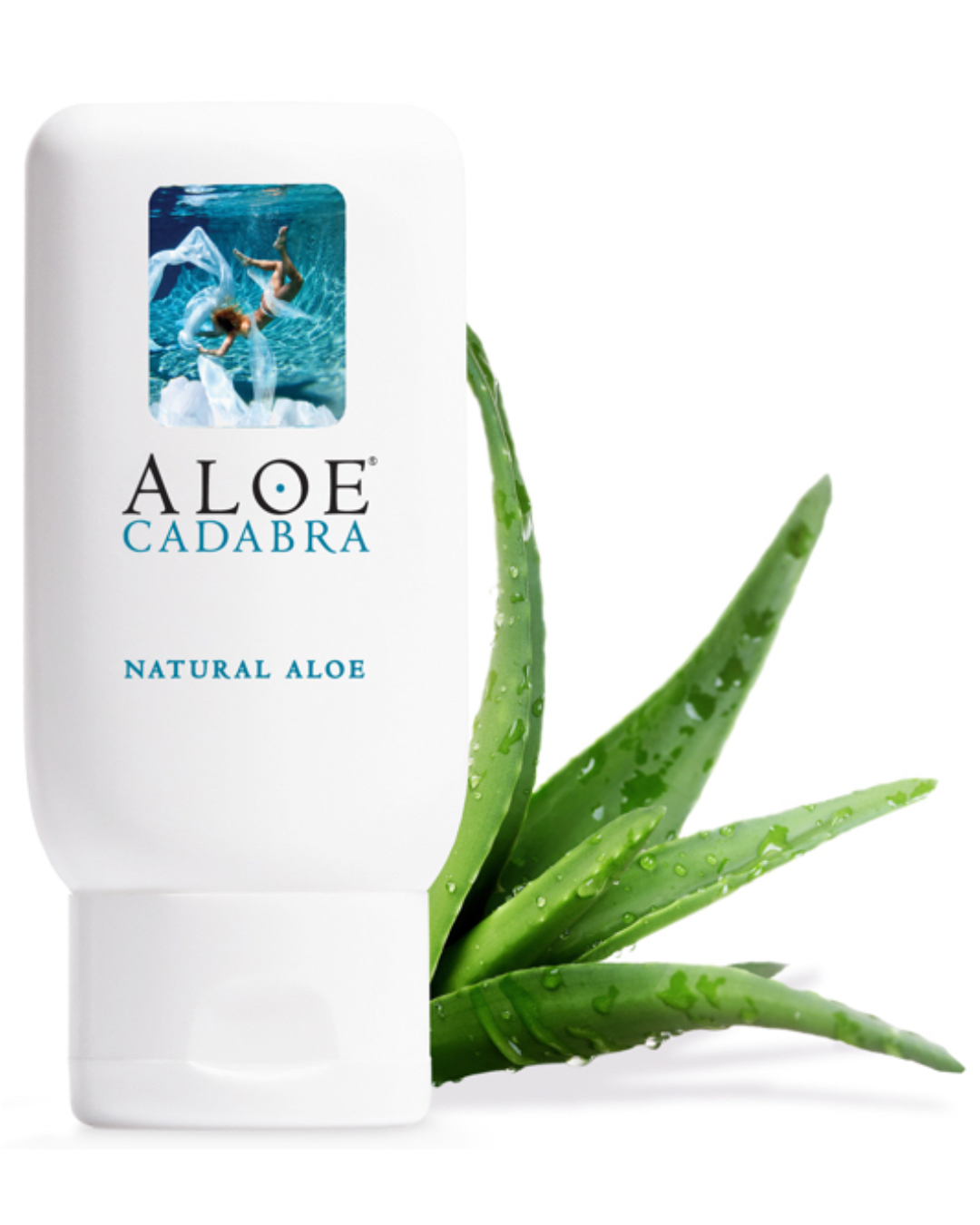 Aloe Cadabra Organic Water Based Natural Lubricant 2.5 oz