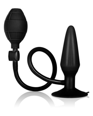Booty Pumper Medium Black Inflatable Plug