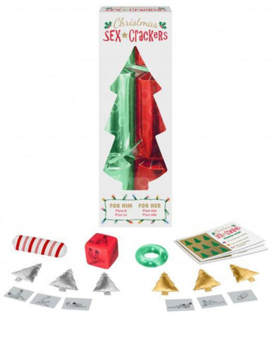 Christmas Sex Crackers by Kheper Games Box and Contents