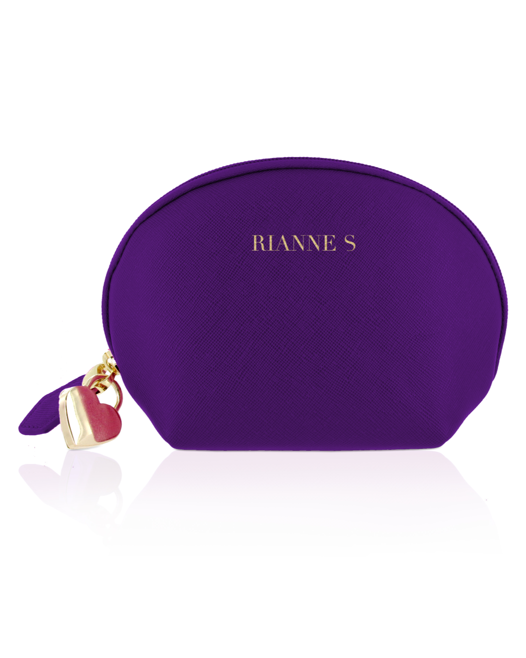 Rianne S Pulsy Playball Remote Control Kegel Exerciser - Deep Purple makeup case