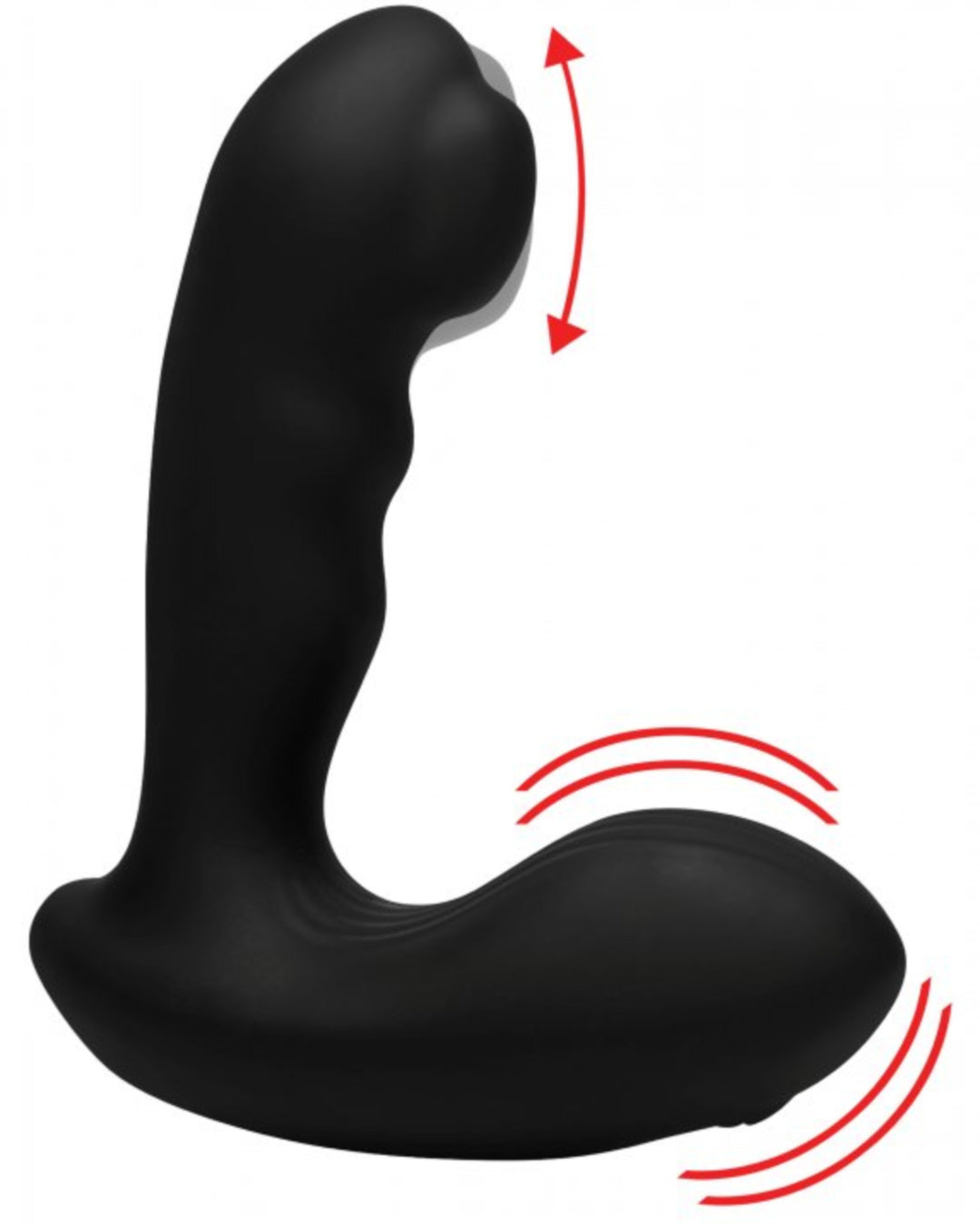 Alpha Pro 7X P-MILKER Silicone Prostate Stimulator with Milking Bead