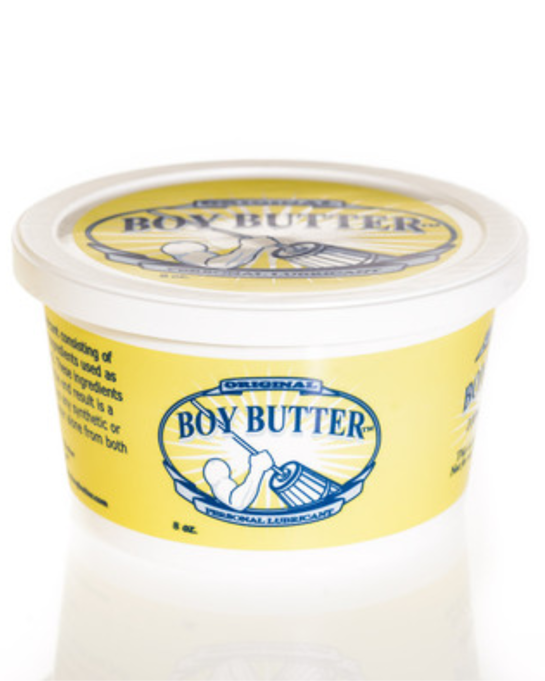Boy Butter Original Oil Based Lubricant with Coconut Oil 8 oz