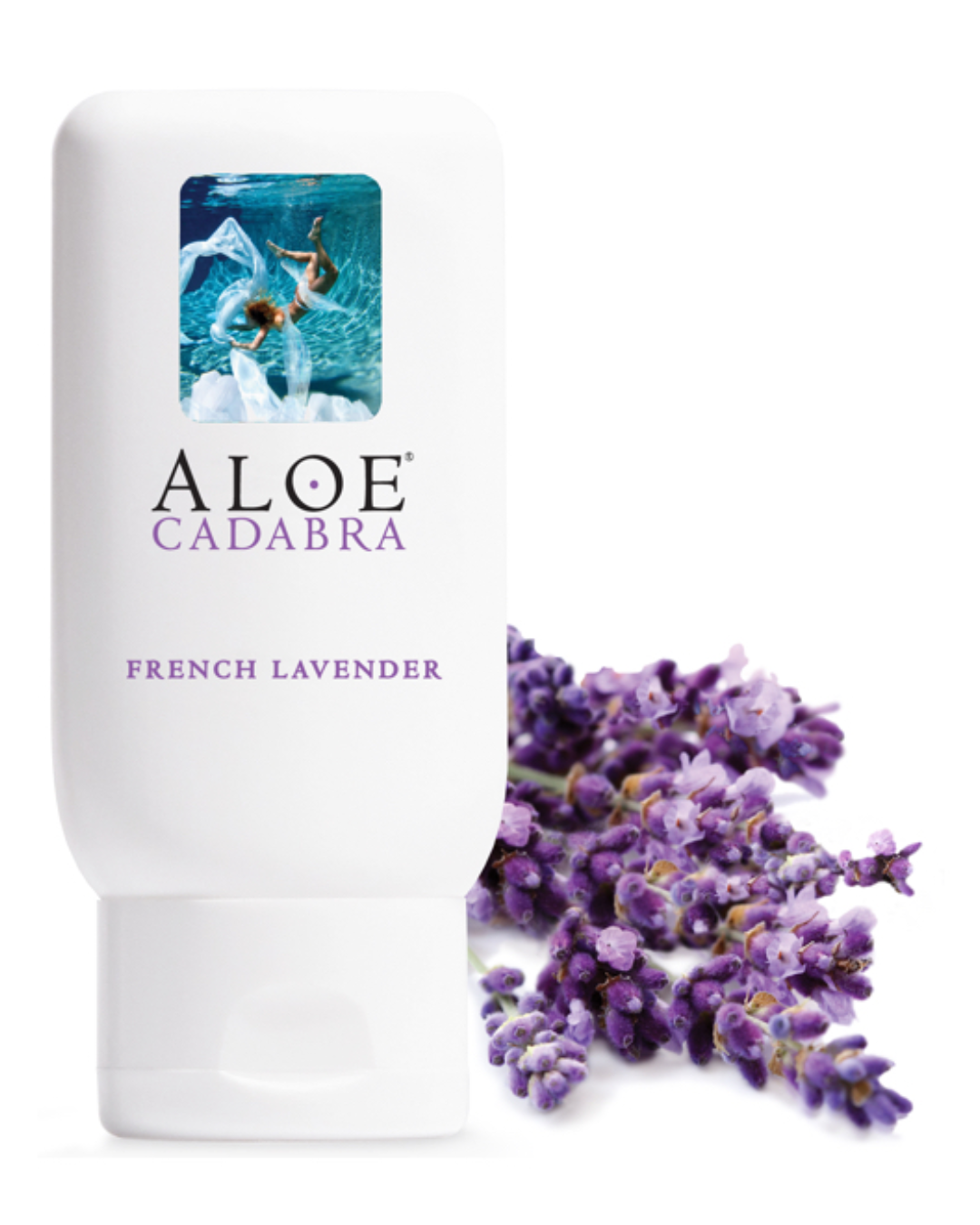 Aloe Cadabra Organic Water Based French Lavender Scent Natural Lubricant 2.5 oz