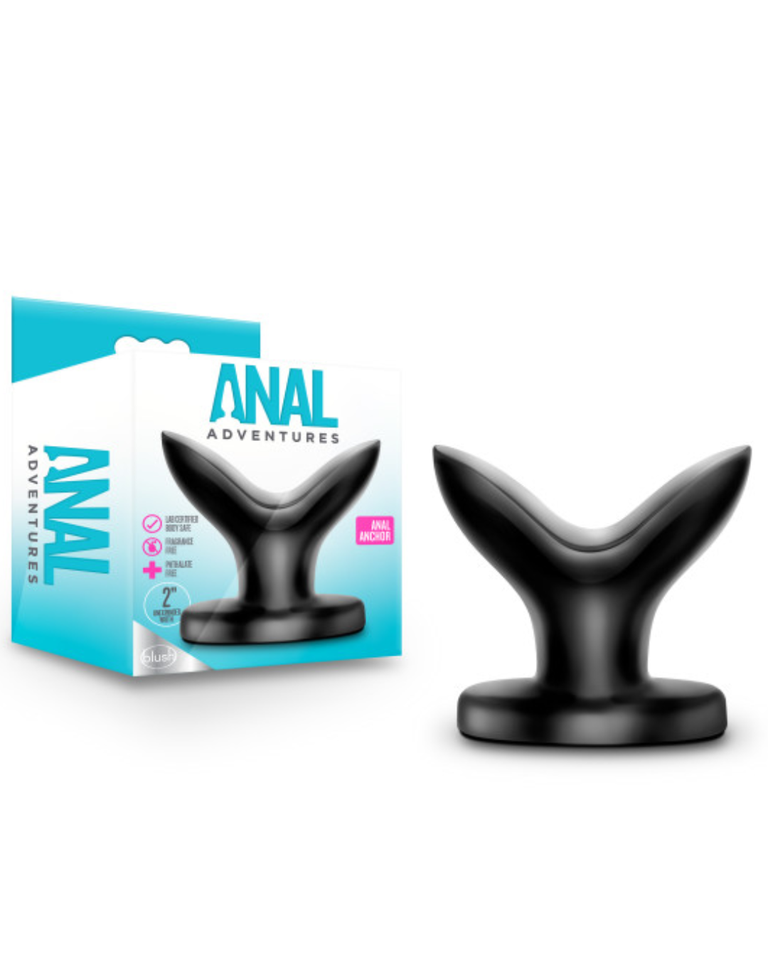 Anal Adventures Anal Anchor Plug by Blush Novelties with box