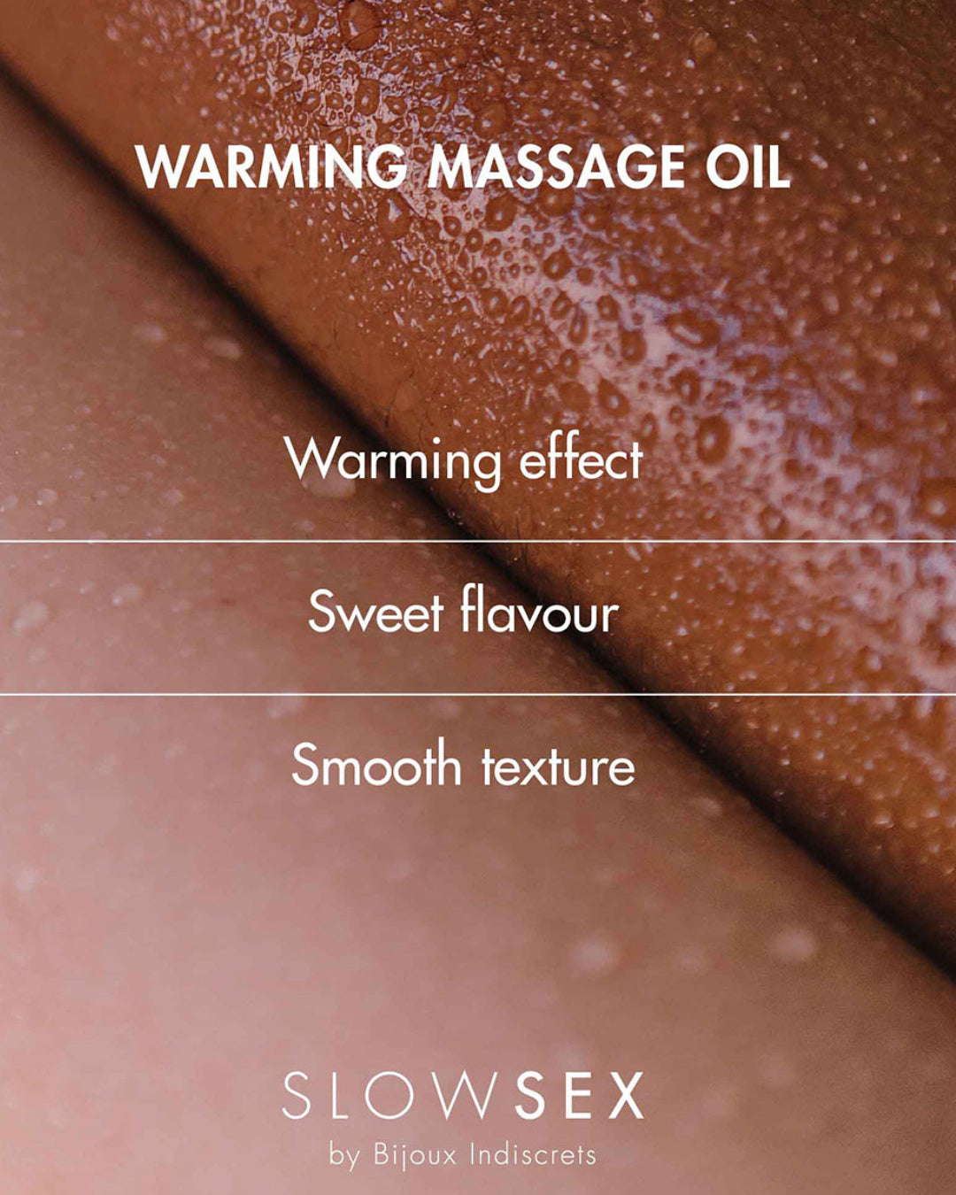Bijoux Indiscrets Slow Sex Warming Massage Gel Description