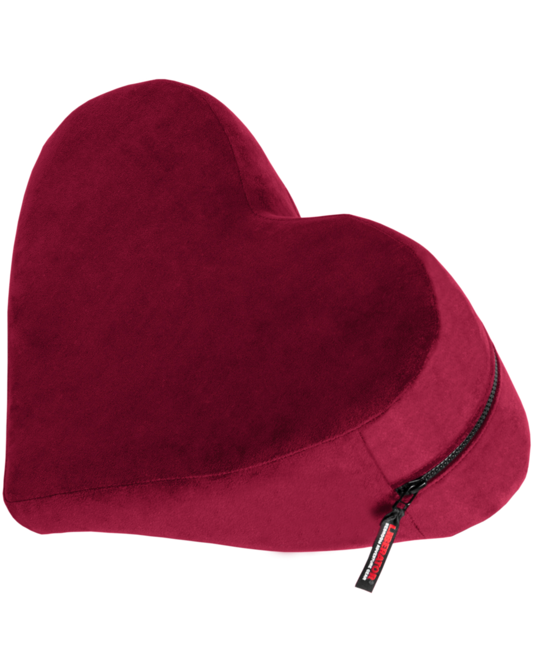 Liberator Decor Heart Wedge Sex Positioning Cushion - Assorted Colors merlot