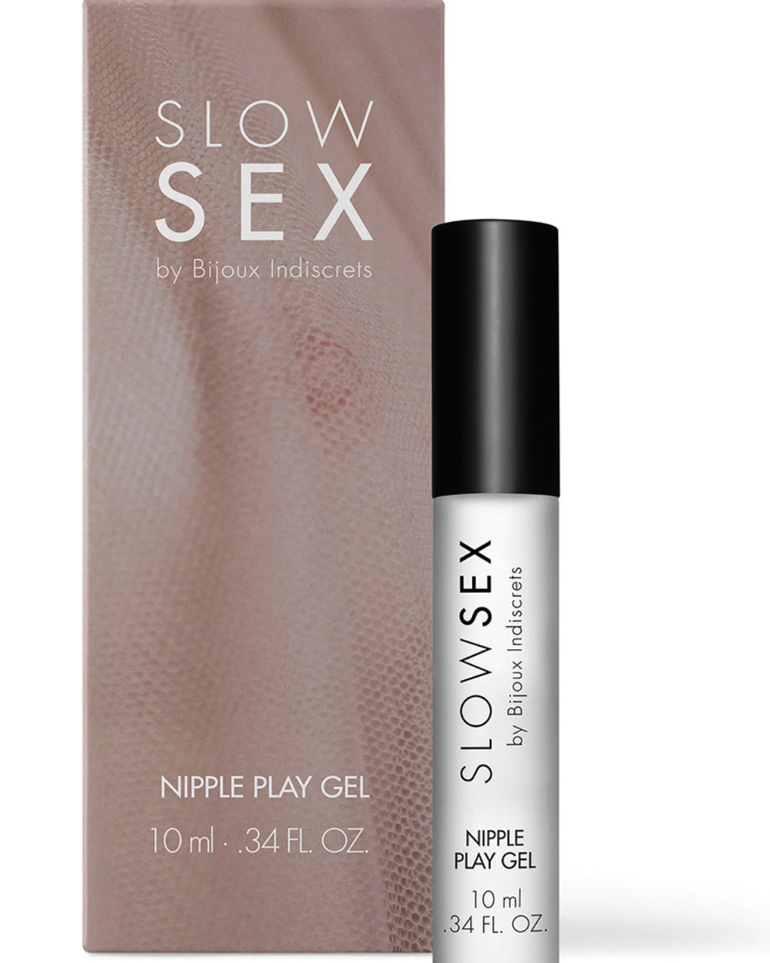 Bijoux Indiscrets Slow Sex Nipple Play Gel product and box