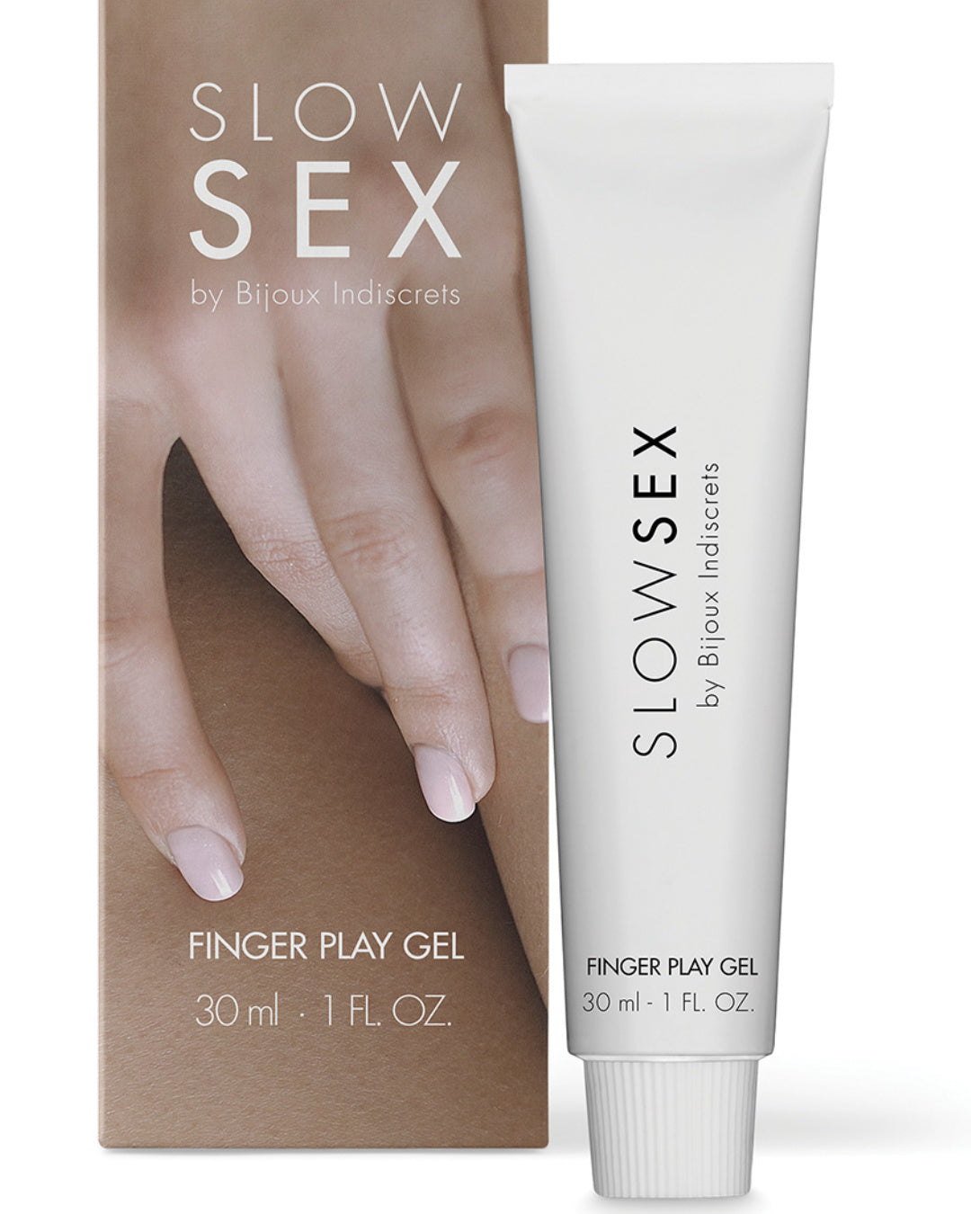Bijoux Indiscrets Slow Sex Finger Play Gel 1 oz with box