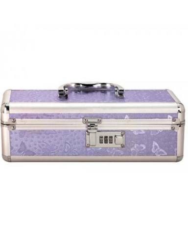Lockable Vibrator Case Small - Purple