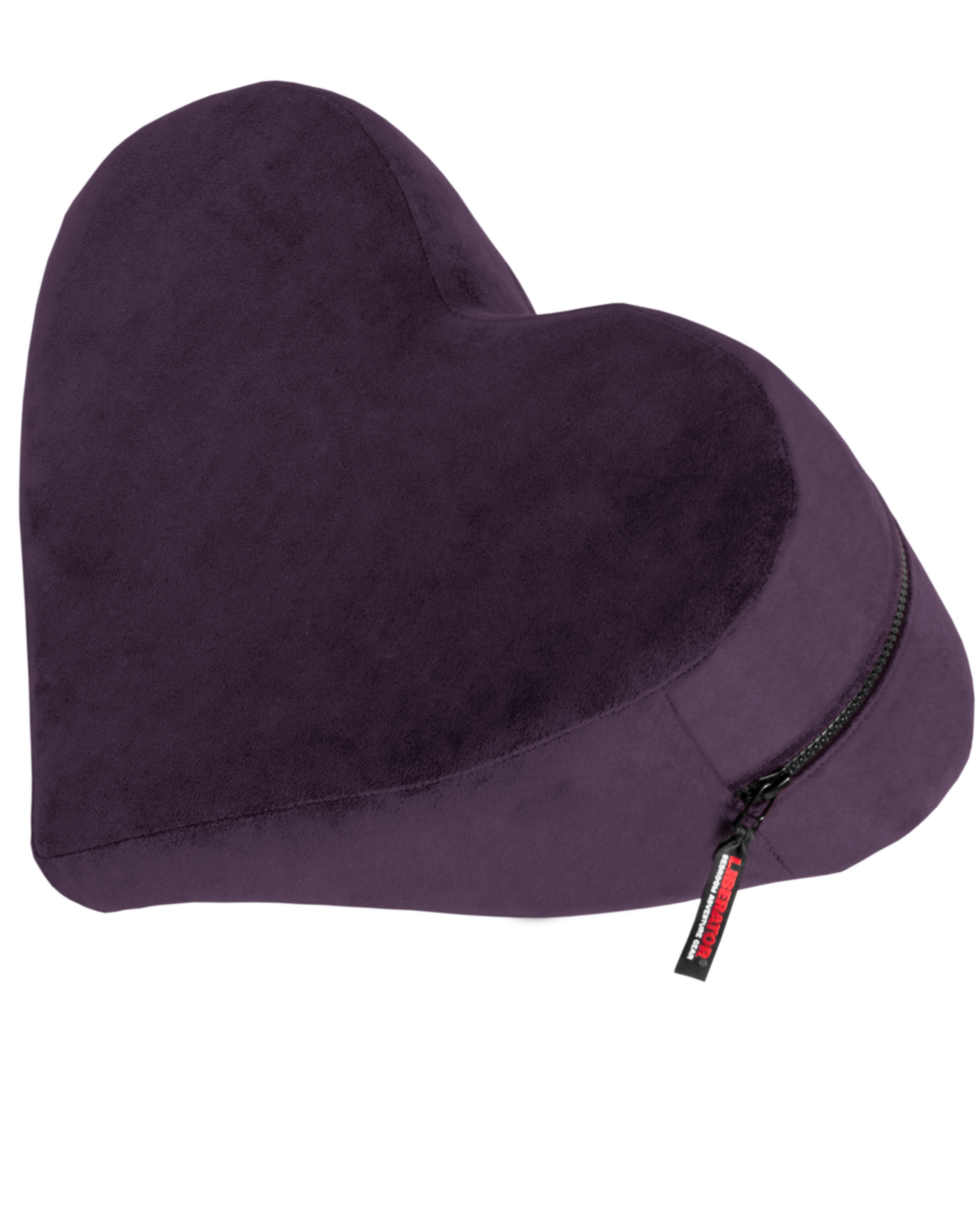 Liberator Decor Heart Wedge Sex Positioning Cushion - Assorted Colors plum