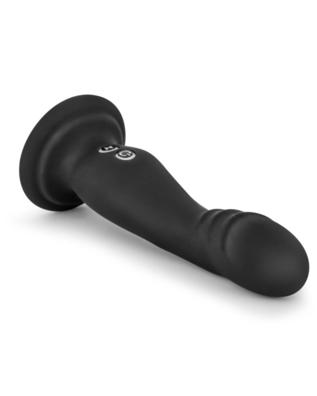 Impressions N1 Silicone G-Spot Vibrator with Suction Cup by Blush - Black